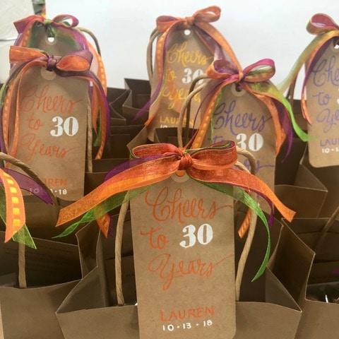 Birthday goody bags