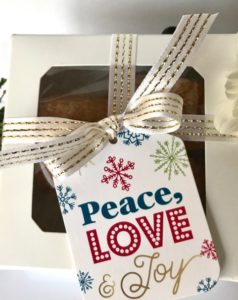 holiday gift cookies