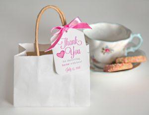 LI wedding shower cookie favors
