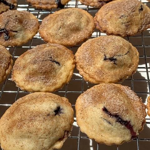 Blueberry pie minis