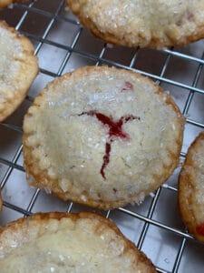 strawberry pie minis
